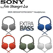 Sony MDR-XB550AP EXTRA BASS Cushioned Earpads Headphones Music Sound
