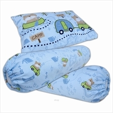 Bumble Bee Pillow and Bolster Set - 02A (KNIT))