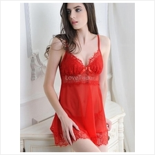 LoveTwo Charming Lace Babydoll Lingerie With G String