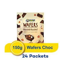 Julie's Wafer Cube's Chocolate 150g (24 Packets)