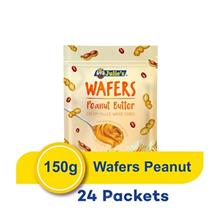 Julie's Wafer Cube's Peanut 150g (24 Packets))
