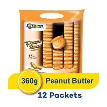 Julie's Peanut Butter Sandwich 360g (12 Packets)