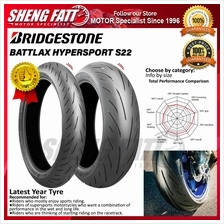 BRIDGESTONE BATTLAX HYPERSPORT S22 MOTORCYCLE TYRE (HYPER SPORT TIRE)