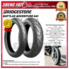 BRIDGESTONE BATTLAX ADVENTURE A41 MOTORCYCLE TYRE (ADVENTURE TIRE)
