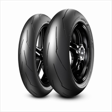 PIRELLI DIABLO\u2122 SUPERCORSA SC FRONT AND REAR MOTORCYCLE TYRE (RACING T)