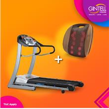 Gintell CyberAir Treadmill FT22 (Showroom Unit)+G Resto Massager
