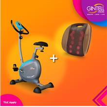 GINTELL FT234 Magnectic Bike (Showroom Unit)+G Resto Massager