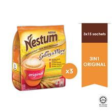 NESTLE NESTUM Original 3in1 15s, 28g Bundle of 3)