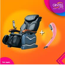GINTELL G-Pro Massage Chair (Showroom Unit) + G Vibo PLUS Massager