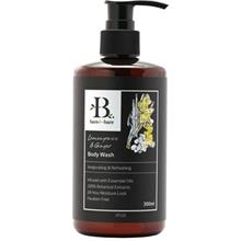 Bare For Bare Lemongrass and Ginger Body Wash with Pure Essential Oil 300ml)