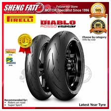 Pirelli DIABLO ™ ROSSO SPORT Tyre for Motorcycle/Superbike/Motorsport