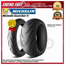 Michelin Scorcher 11 MOTORCYCLE TYRE (ROAD CRUISER) : 120/70 ZR19 (60W