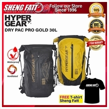 HYPERGEAR DRY PAC PRO GOLD 30L 1 Year Warranty (Ready Stock ‎)