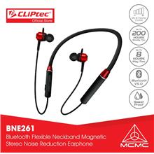 CLiPtec AIR-NECKSPORTS Bluetooth Neckband Magnetic Stereo Earphone BNE)