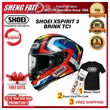 SHOEI XSPIRIT 3 BRINK TC1 - FULL FACE HELMET [ORIGINAL]