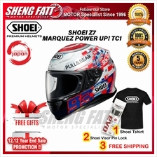SHOEI Z7 MARQUEZ POWER UP! TC1 - FULL FACE HELMET [ORIGINAL])