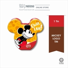 Nestle KitKat Mickey Festive Tin Design D
