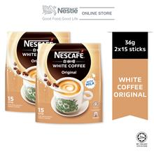NESCAFE White Coffee Original 15 Sticks 36g x2 packs