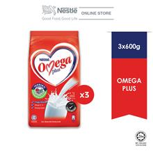 NESTLE OMEGA Plus 600g Bundle of 3