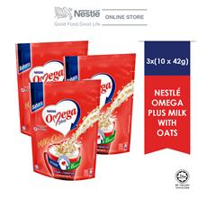 NESTLE OMEGA PLUS With Oats 10 Sticks 42g x3 packs