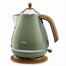 Delonghi Icona Vintage 1.0L Kettle (Green) - KBOV2000.GR)