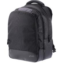 Bag2u Laptop Black Backpack - BP160)