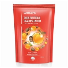WATSONS Shea Butter Peach Scented Cream HSoap