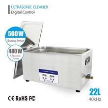 22L 480W Digital Ultrasonic Cleaner Heater Bath Timer Lab Industry
