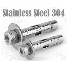 Stainless Steel 304 Hex Socket Cap Expansion Bolt Sleeve Anchor (CASS)