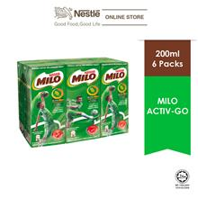 MILO ACTIV-GO UHT 6 Packs 200ml
