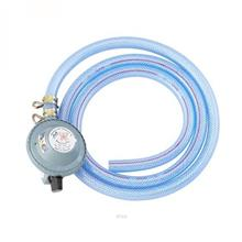 Butterfly LPG Regulator with Transparent Hose  & Hose Clips - 182-CT