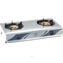 Butterfly Stainless Steel Double Gas Stove - BGC-868/343