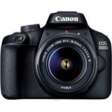 Canon EOS-3000D Black DSLR Camera with 18mm-55mm (Canon Warranty))