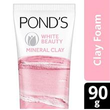 PONDS Ponds White Beauty Mineral Clay Face Cleanser 90gBR