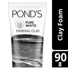 PONDS Pure White Mineral Clay Face Cleanser Scrub 90g