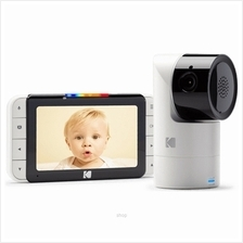 Kodak C525 5 Inch Portable Video Baby Monitor with Wi-Fi  & Tilt, Pan Camera)