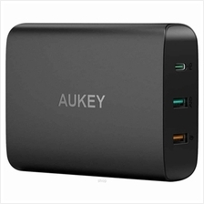 Aukey 74.5W USB C Power Delivery 3.0  & QC 3.0 Desktop Charger - PA-Y13)