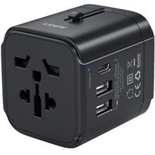 Aukey Universal Travel Adapter With USB-C and USB-A Ports - PA-TA01