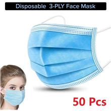 [PRESALE] 1 Box 50 pcs 3 PLY  Disposable Face Mask Non Woven Adult