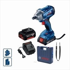 Bosch GDS 250-LI Cordless Impact Wrench (with 2 Batteries + 1 Charger) - 06019)