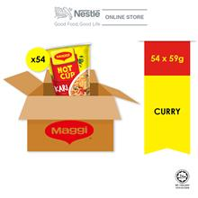 MAGGI Hot Cup Curry 54cups x59g Carton
