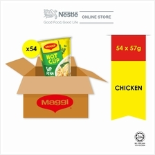 MAGGI Hot Cup Chicken 54 Cups x 58g Carton ExpDate:SEP'20