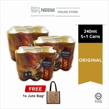 NESCAFE Original Can 5+1 240ml cluster Buy 3 Free Jute Bag