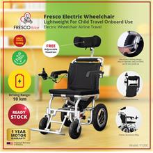 Fresco Electric Wheelchair Lightweight For Kids Travel