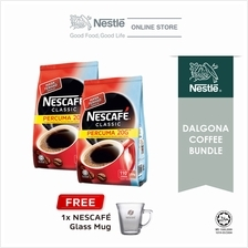 Nescafe Classic Dalgona Bundle Option 4, Free 1 Nescafe Mug