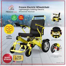 Fresco Lightweight Folding Electric wheelchair Maxload FD09