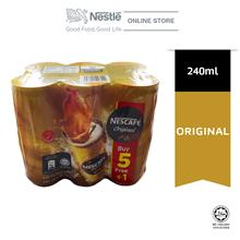 Nescafe Original Coffee Can 5+1, 240ml