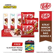 Nestle KITKAT Chocolate Minion Cooler Bag Bundle 4