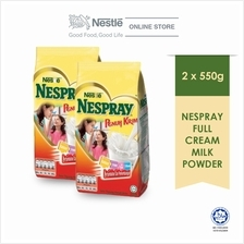 NESPRAY Full Cream Powder Softpack 550g x2