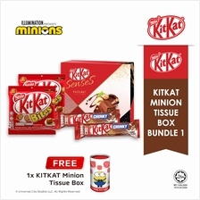 Nestle KITKAT Minion Tissue Box Chocolate Bundle 1